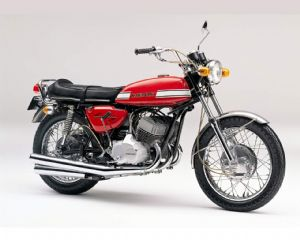 KAWASAKI - H1 - COMPLETE SET - TRANSFERS - 1970 - CANDY RED MODEL - D57003